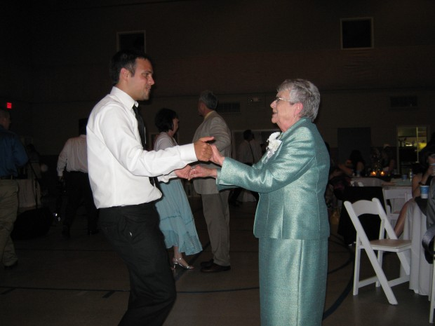 I Danced with Cassi's grandmother!