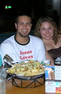"Yes, I wore a ""Jesus Loves Pedro"" shirt. Guilty!"